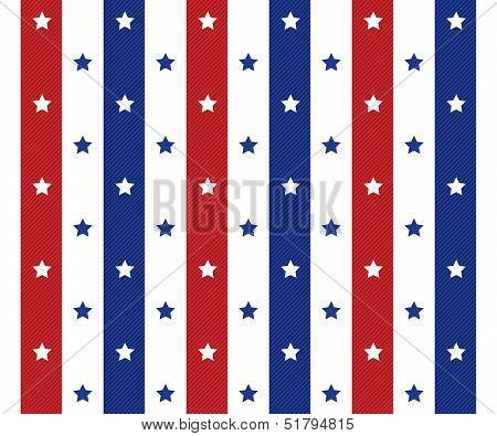 American Seamless Pattern Background