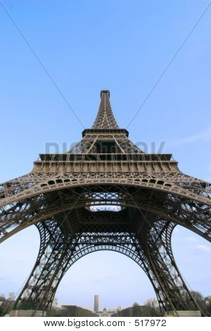Eiffel Tower Wide Angle