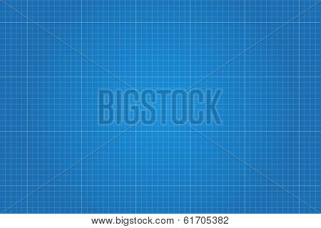 Blueprint illustration. (EPS vector version also available in portfolio)
