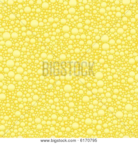 Champagne bubble seamless background