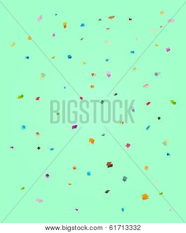Rectangle Polka Background