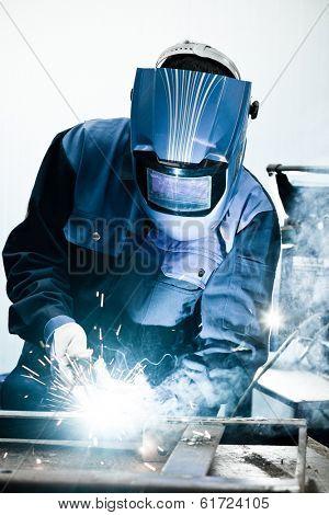 Welding work