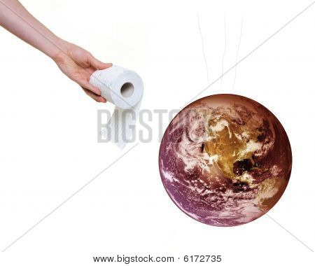 God Telling Filthy Planet Earth It Is Time To Clean Up