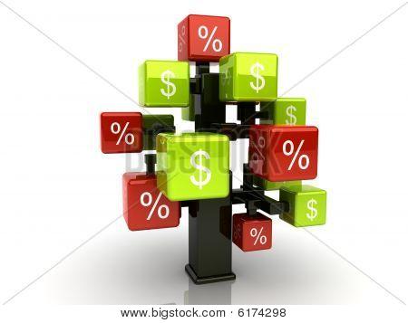 Money Credit Tree