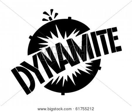 Dynamite Banner - Retro Clip Art Illustration