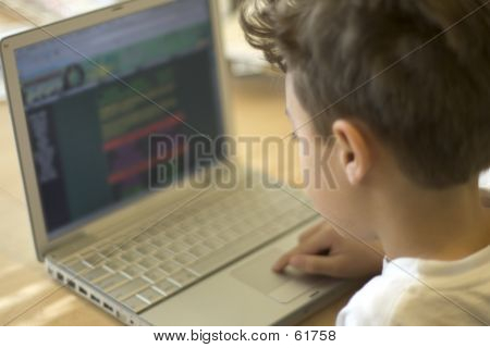 Young Web Surfer