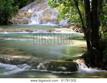 Dunn's River Falls, Jamaica.