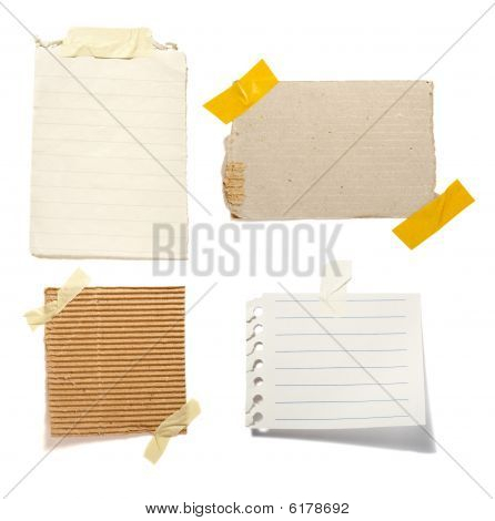 Notes With Tape Group