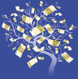 200 Euro Tree