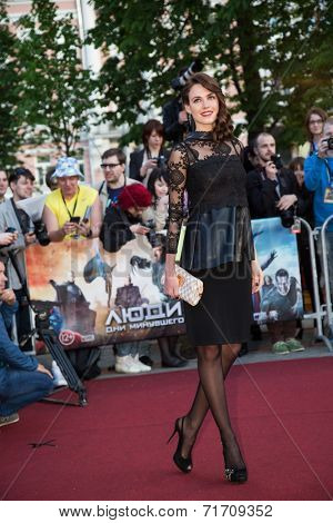 MOSCOW, RUSSIA, May, 13: Irina Antonenko. Premiere of the movie