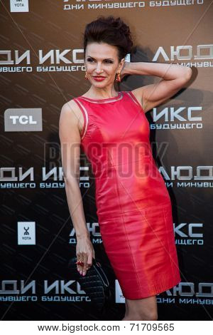 MOSCOW, RUSSIA, May, 13: Evelina Bledance. Premiere of the movie