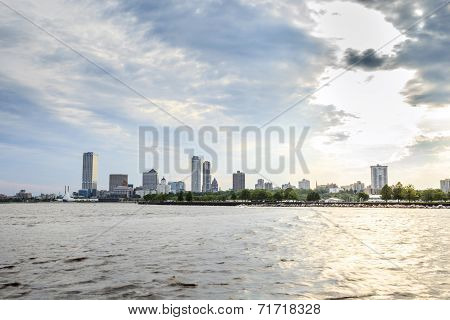 Milwaukee Skyline, Wisconsin, Usa