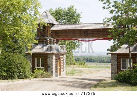 Log Gate