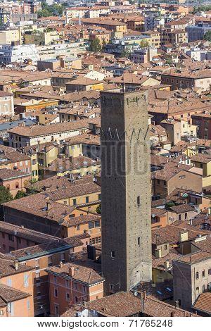 The Prendiparte Tower, Bologna, Italy
