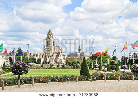 Church Saint-etienne-le-vieux In Caen, France
