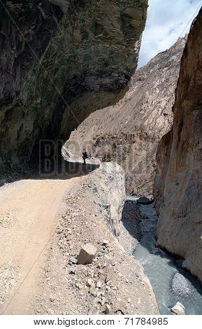 Dangerous Road In Indian Himalayas