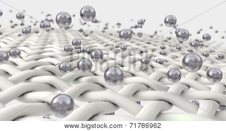 Micro Fabric And Silver Particles