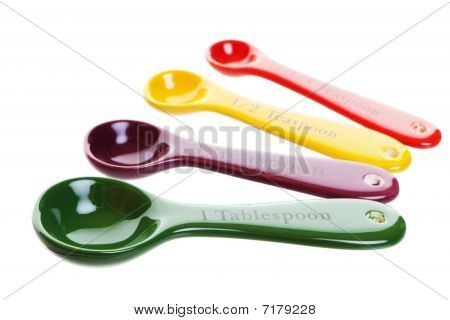 Colored Measuring Spoons