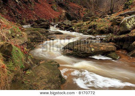 Fast Flowing River Wiske