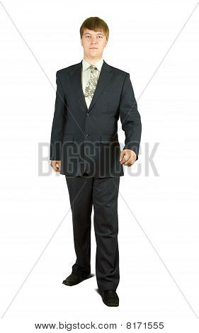 Walking Businessman