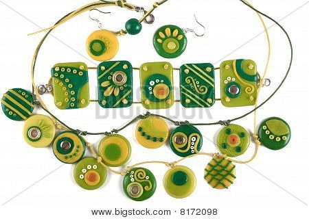 Ornaments from polymer clay
