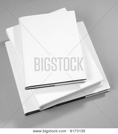 Three Blank Book Cover