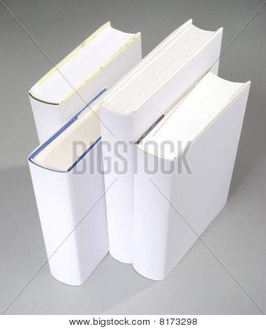 The Row Of Blank Books