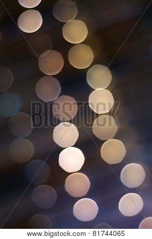 Abstract hanging lights