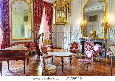 Versailles France - September 21 Interior Chateau Of Versailles, Versailles, France On September 21,