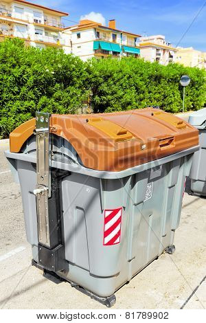 Variety dumpsters.