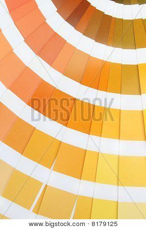Pantone. Yellow