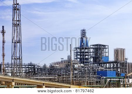 Oil Refinery factory