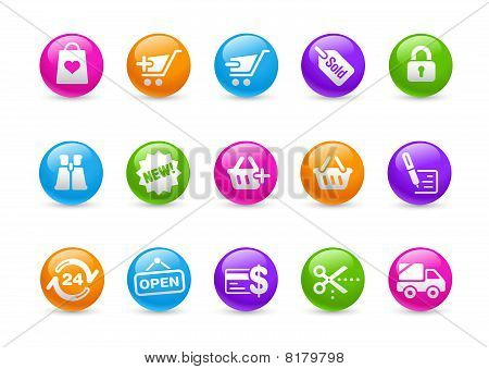 Shopping // Rainbow Series