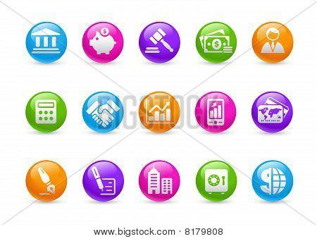 Business & Finance // Button Bar Series