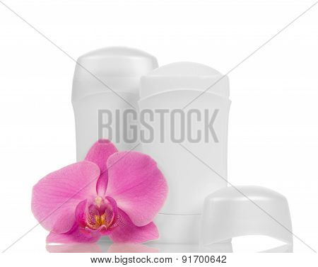 Deodorants and orchid flower