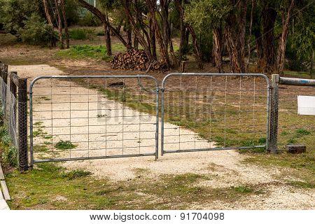 Double Driveway Gate