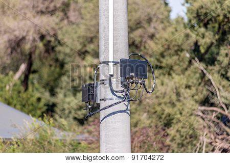 Concrete Telegraph Power Pole Boxes