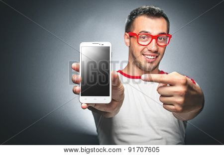 Man With Mobile Phone