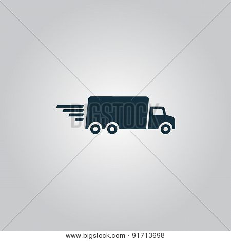 delivery sign icon