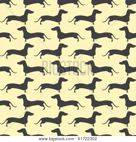 Dachshund Opposite Pattern