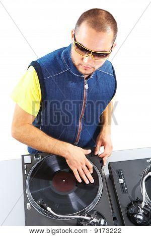 Vinyl Disc Player
