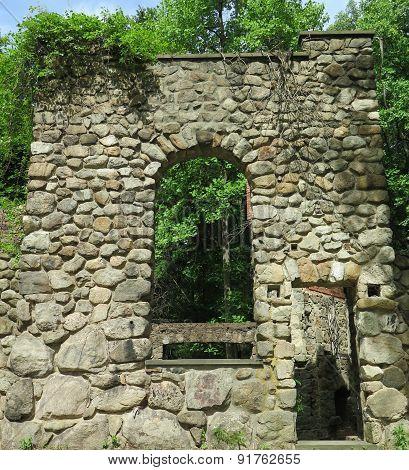 Abandoned Stone Home
