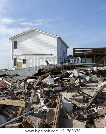 Hurricane Sandy Destruction At Breezy Point - Photo 6