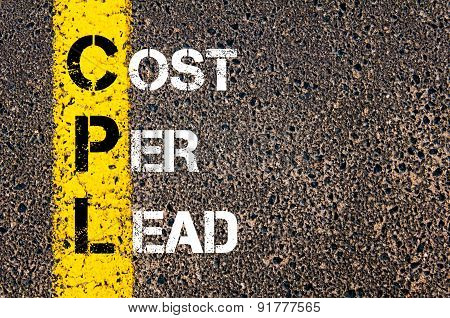 Business Acronym Cpl As Cost Per Lead