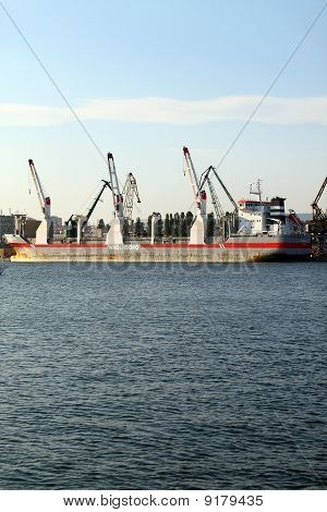 Cargo ship PRINSENBORG