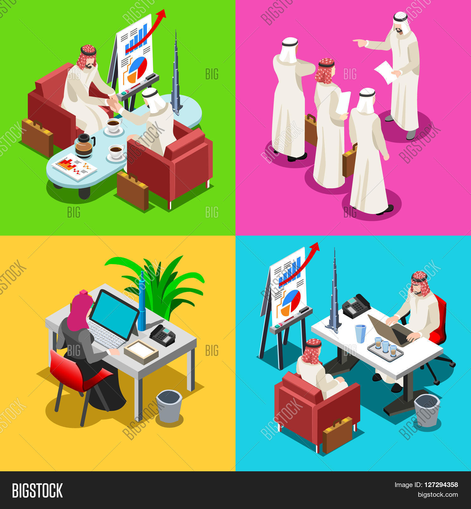 Middle Eastern Arab Vector & Photo (Free Trial) | Bigstock
