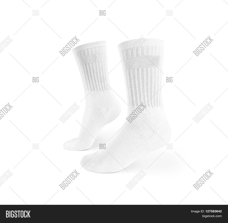Blank White Socks Image & Photo (Free Trial) | Bigstock