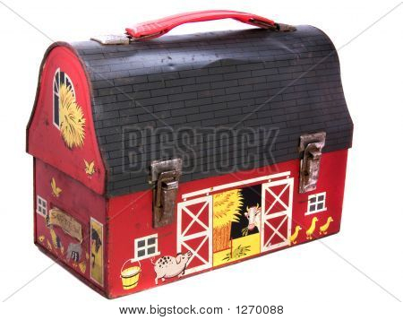 1950S School Lunchbox