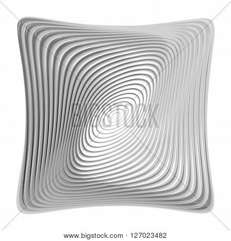 Design Monochrome Illusion Background