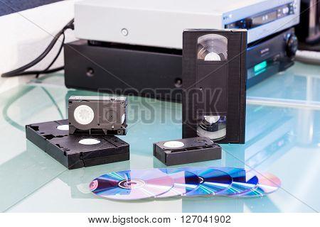 Detail Views Of Storage Media